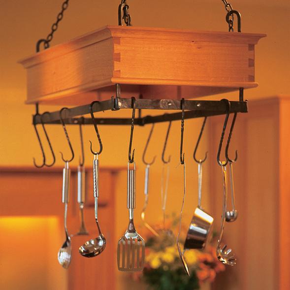 Hanging Dovetailed Game Rack