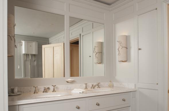 Lower Whitelands Vanity Unit Mirror