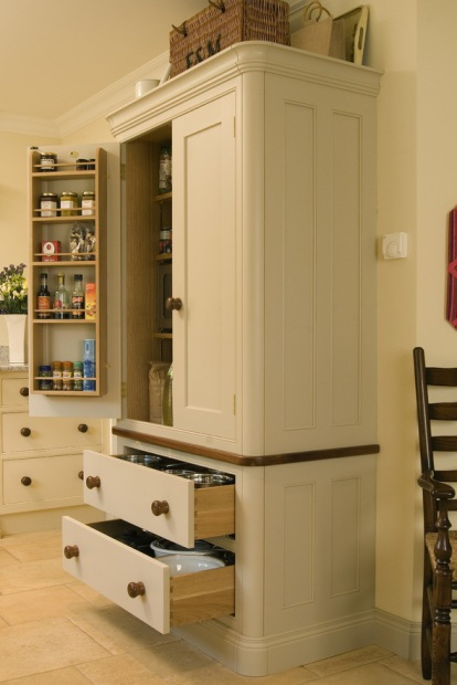 Trefurn Anniversary Larder - Doors and Drawers Open