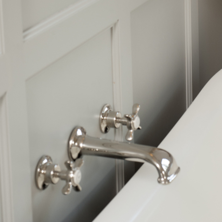 Wall Mounted Bath Fillers, Lefroy Brooks