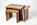 Trefurn, Bespoke, Freestanding, Furniture, Coffee Table, Nest, Black Walnut, Birdseye Maple